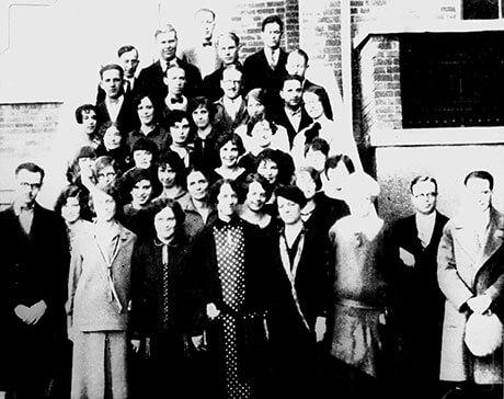 1927 First Graduating Class CCCS