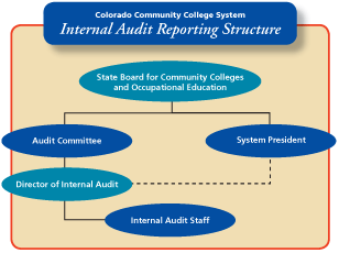 internal audit reporting structure