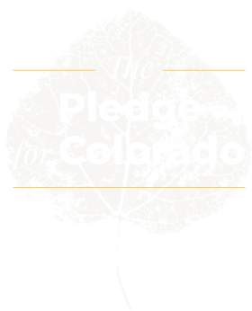 The Pledge for Colorado