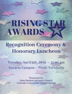 2019 Rising Star Awards