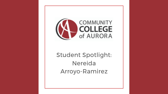 Student Spotlight Nereida Arroyo-Ramirez