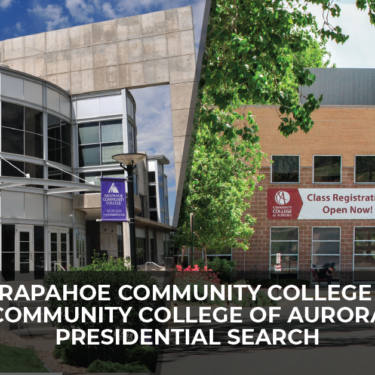 Arapahoe Community College & Community College of Aurora Presidential Search
