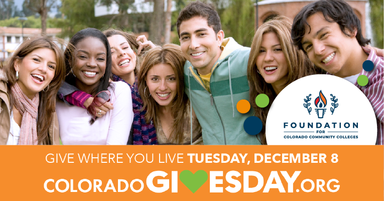 Give where you live Tuesday, Dec 8 at coloradogivesday.org