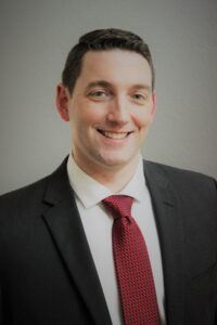 Photo of Dr. Josh Baker, finalist in CNCC presidential search
