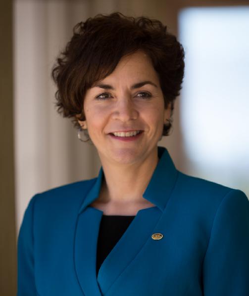 Photo of Marta Yera Cronin, finalist in ACC presidential search
