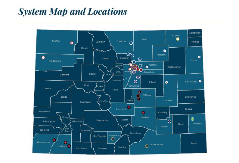 CCCS Campus Locations