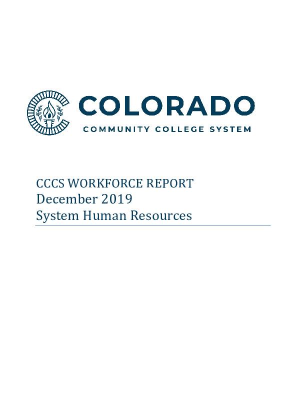 2019 CCCS Workforce Report PDF