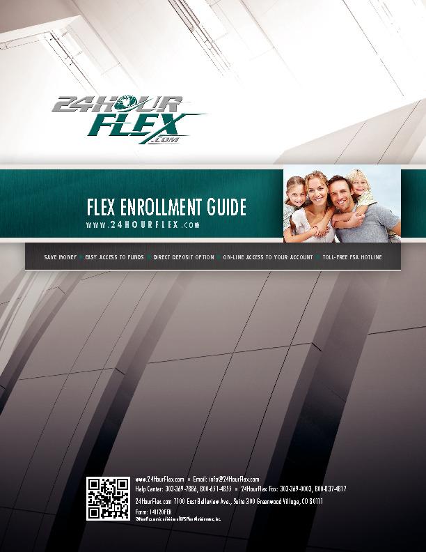 FSA Enrollment Guide PDF
