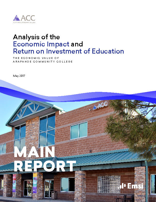Economic Impact – Main Report (ACC) PDF