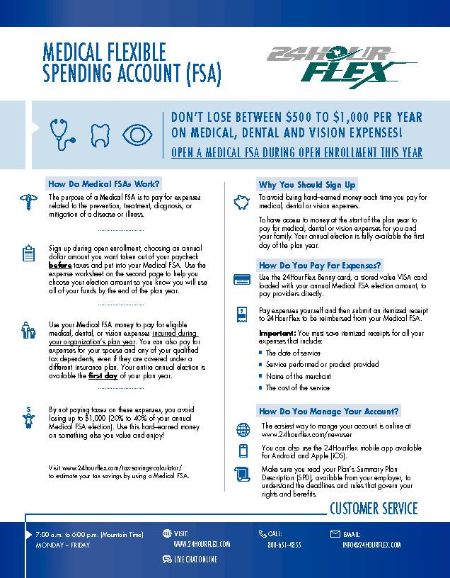 APT & Faculty FSA Enrollment Guide PDF