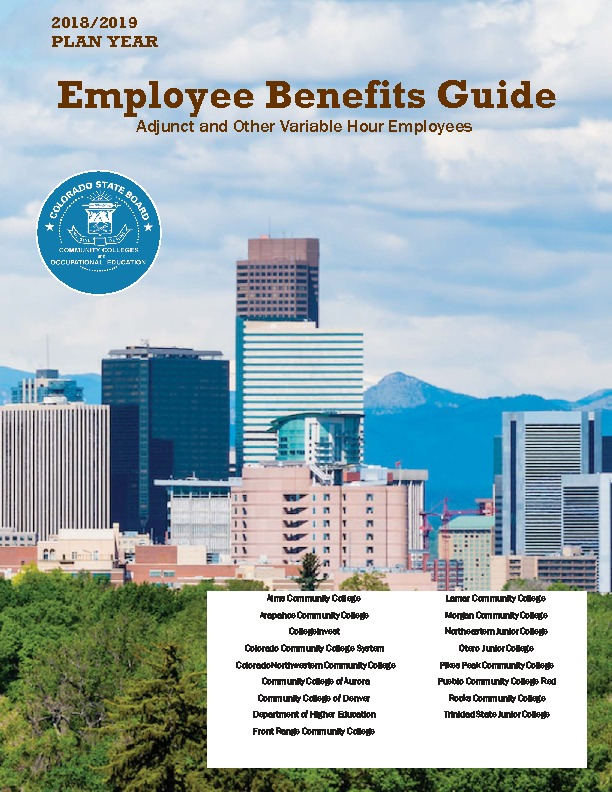 Adjunct & Variable Hour Benefit Guide PDF