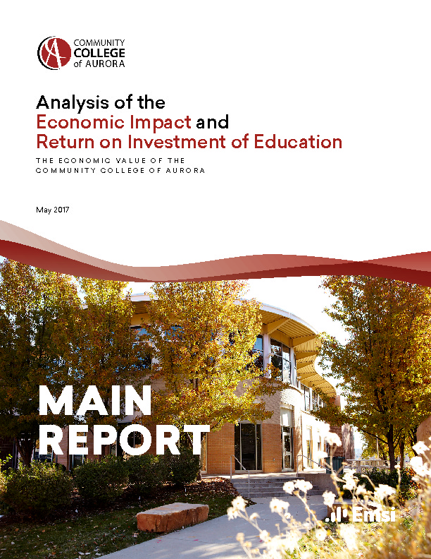 Economic Impact – Main Report (CCA) PDF