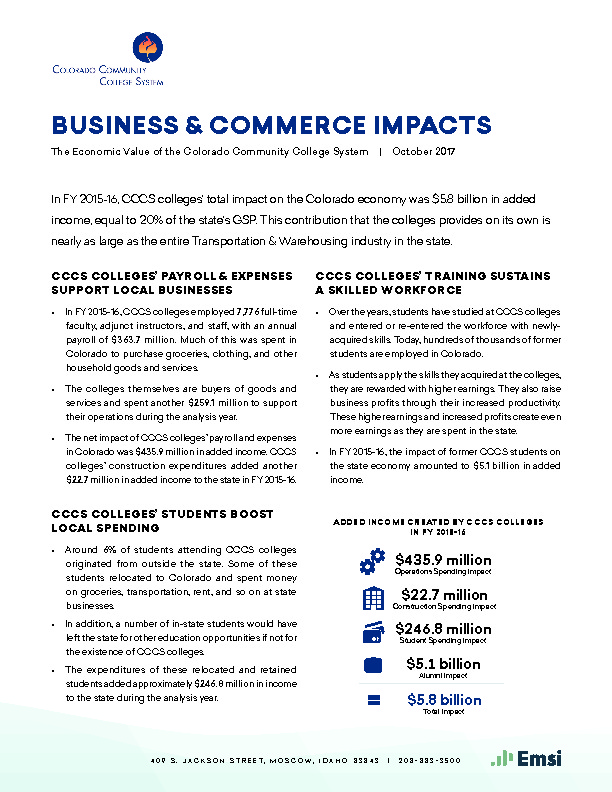 Business & Commerce Impacts PDF