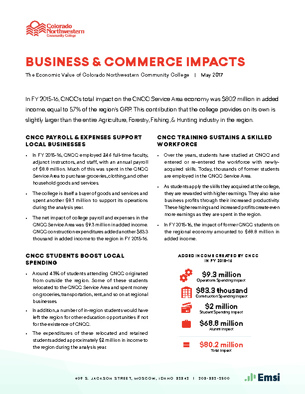 Business & Commerce Impacts (CNCC) PDF