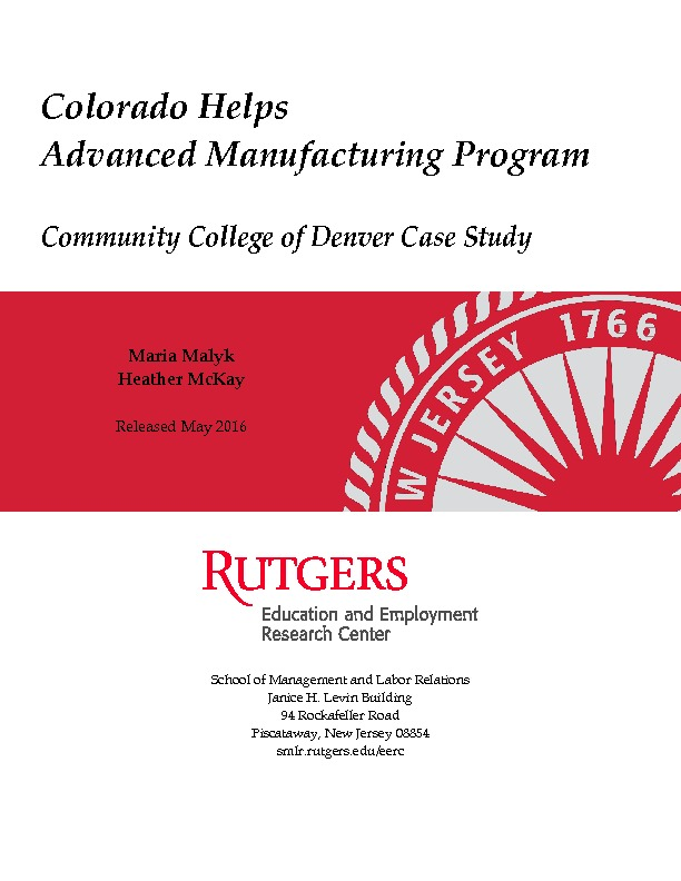 Community College of Denver Case Study Final Aug 2016 PDF