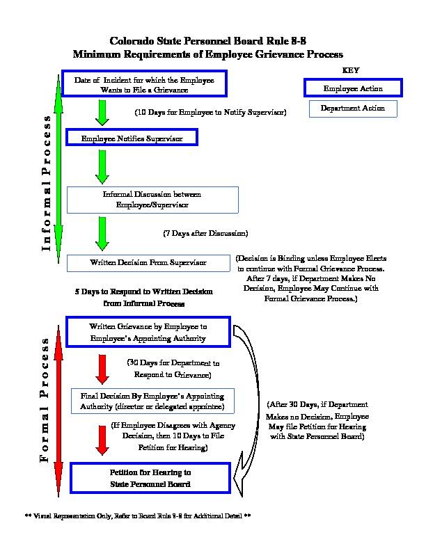 DPA Grievance Flow Chart PDF