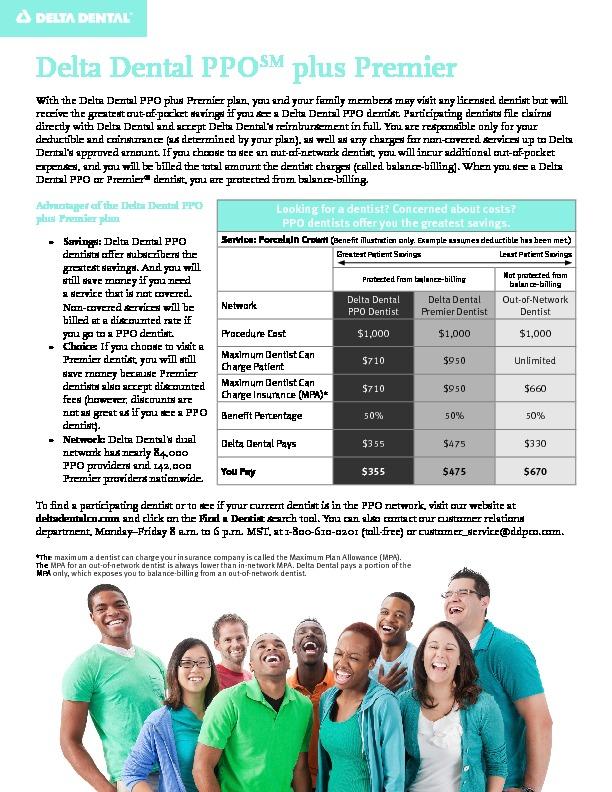 Delta PPO Savings Information PDF