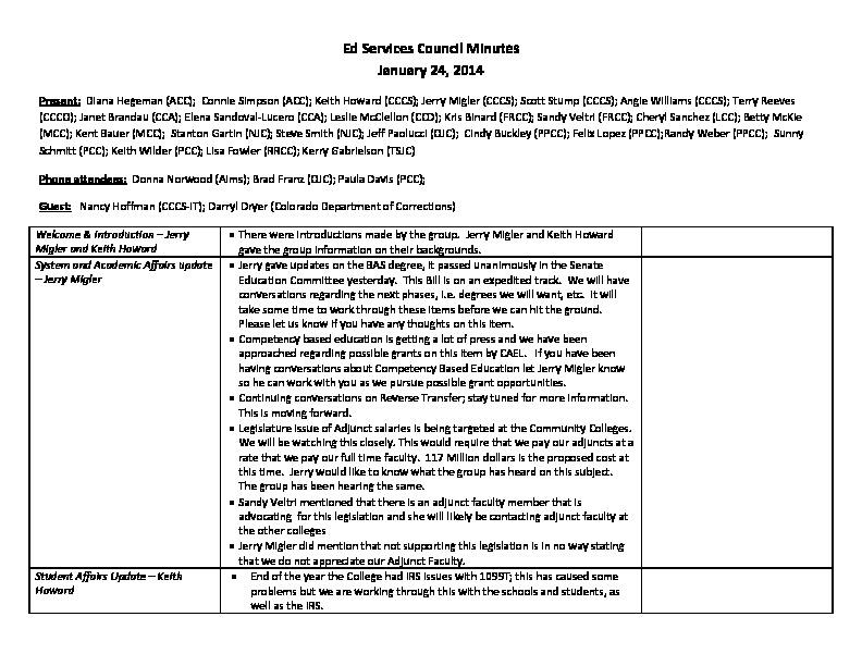 Education Services Council Minutes 01.24.14 PDF