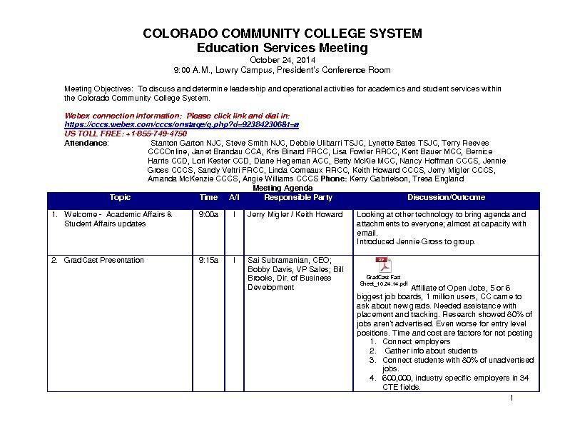 Education Services Council Minutes 10.24.14 PDF