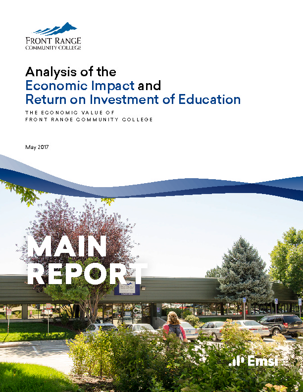 Economic Impact – Main Report (FRCC) PDF