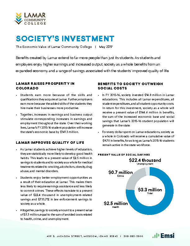 Society's Investment (LCC) PDF