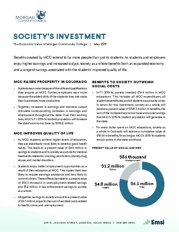 Society's Investment (MCC) PDF