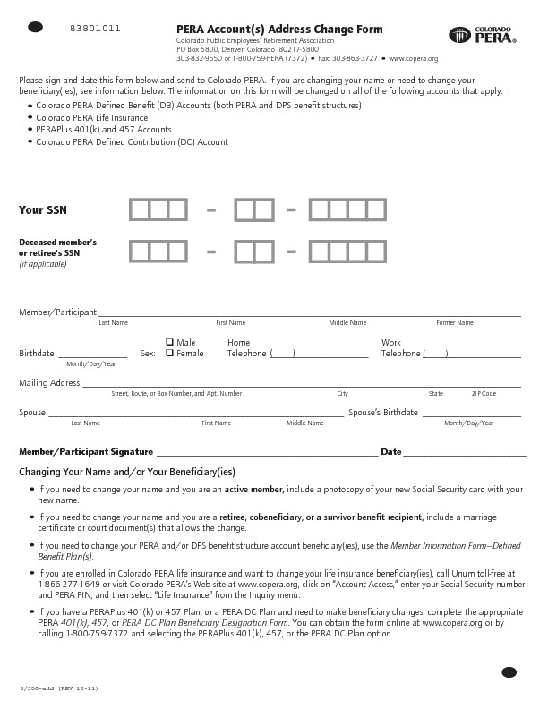 Employee Change Form Employment Status Salary Change Form Sample