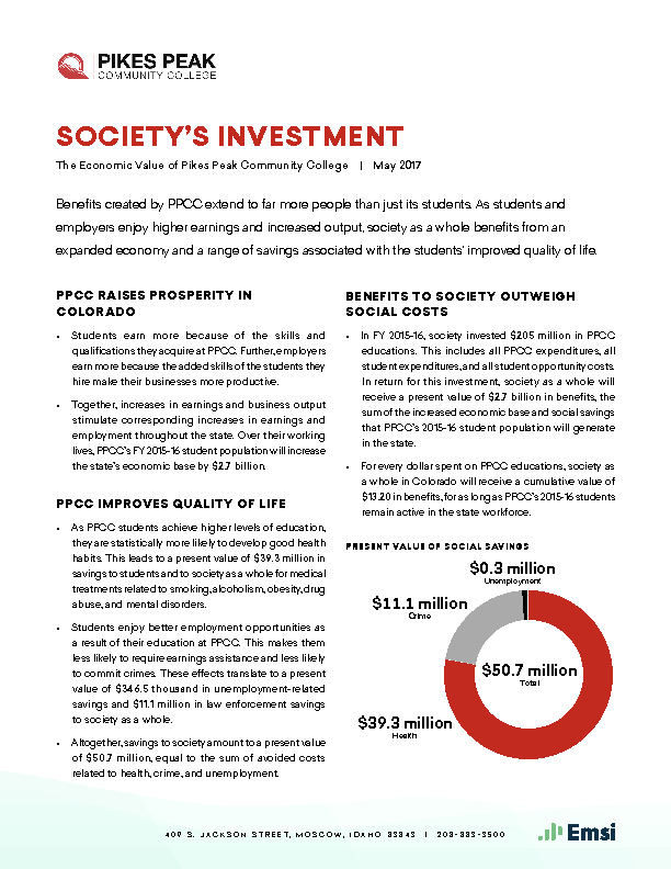 Society's Investment (PPCC) PDF