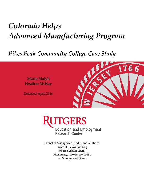 Pikes Peak Community College Case Study Final Aug 2016 PDF