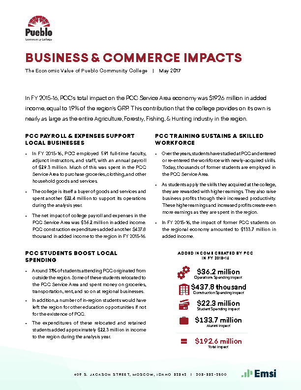 Business & Commerce Impacts (PCC) PDF