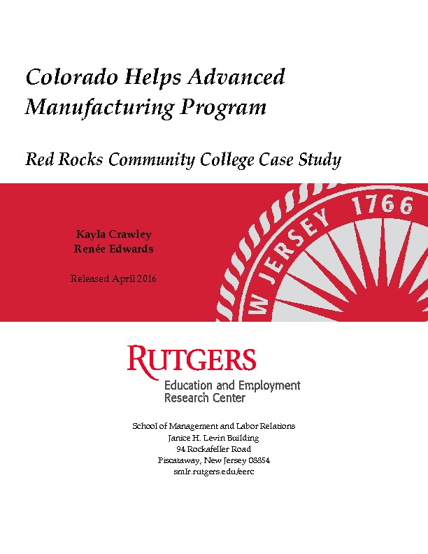 Red Rock Community College Case Study Final Aug 2016 PDF