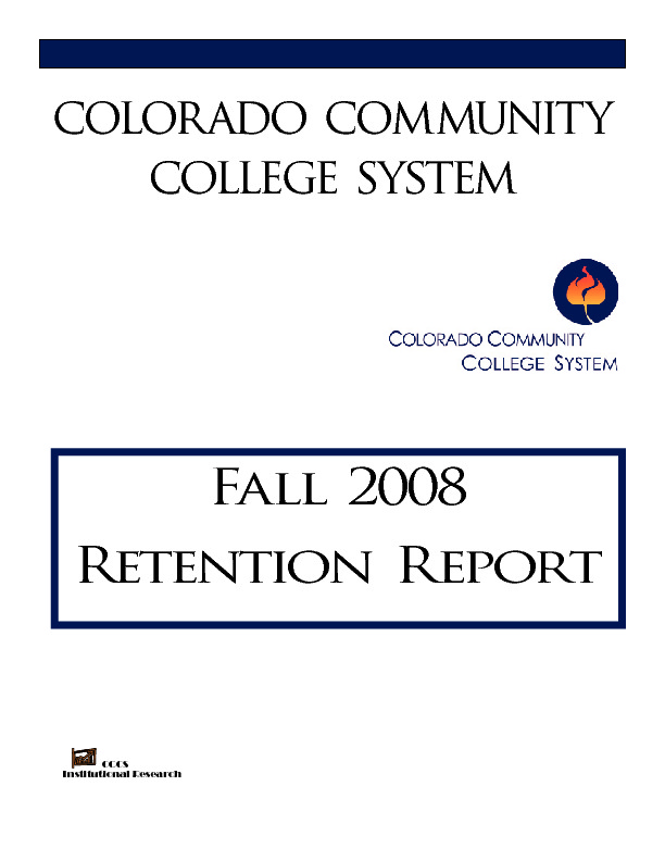2008 Retention Report PDF